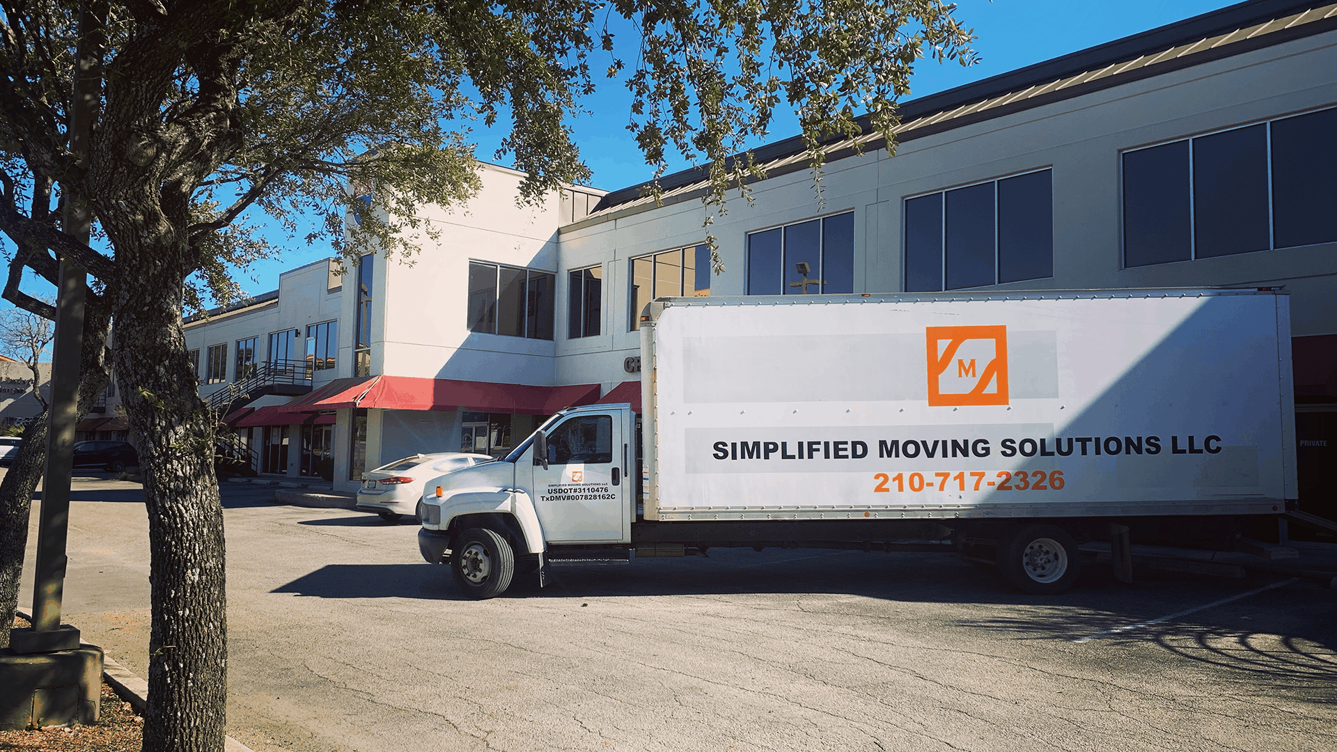 Image of Simplified Moving Solutions big moving truck