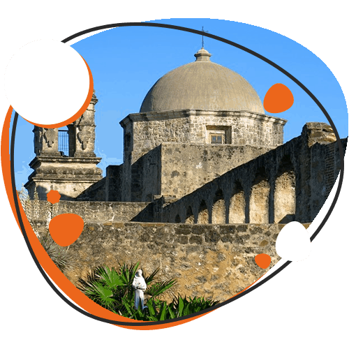 Image of San Antonio Missions National Historical Park & Mission Trail in Texas